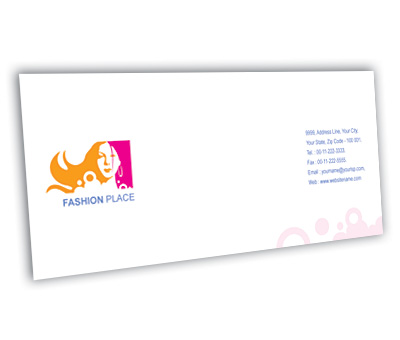Online Envelope printing Fashion Place