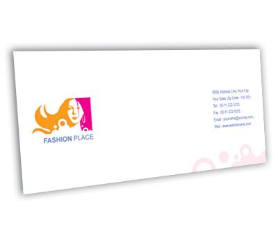 Online Envelope printing Fashion Place