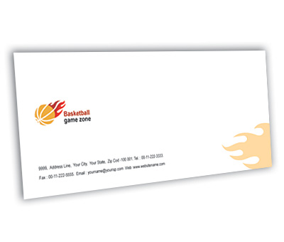 Online Envelope printing Basketball Game
