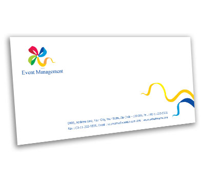 Online Envelope printing Event Management Services