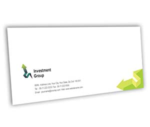 Envelope printing Finance Customer Services
