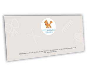 Envelope printing Pet Care Services