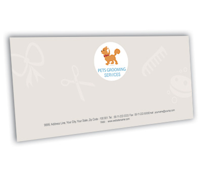 Online Envelope printing Pet Care Services
