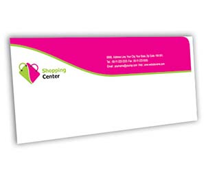 Envelope printing Shoping Centre
