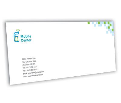 Online Envelope printing Mobile Handsets