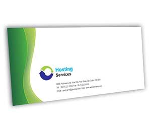 Envelope printing Domain Hosting Services
