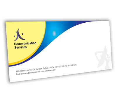 Online Envelope printing Wireless Communication System