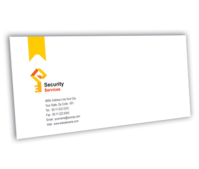 Online Envelope printing Brick House Security