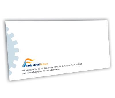 Online Envelope printing Industrial Finance