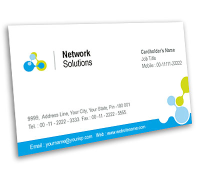 Online Business Card printing Internet Network Services
