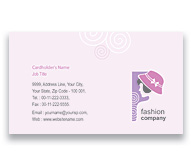 Online Business Card printing Fashion Designer