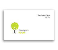 Online Business Card printing Gardening Consultant