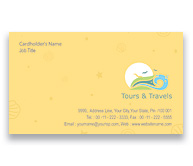 Online Business Card printing Tours And Travels