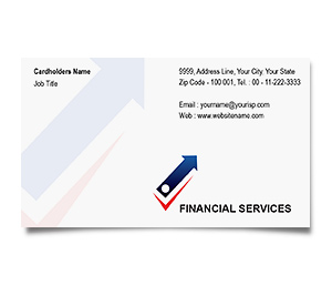Business Card printing Finance Market