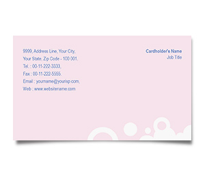Business Card printing Sea Food Restaurant