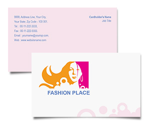 Business Card printing Fashion Place