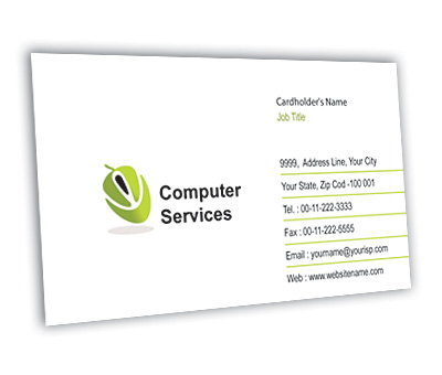 Online Business Card printing Computer Components