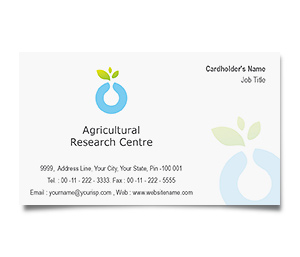 Business Card printing Agricultural Research Service