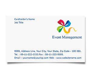 Business Card printing Event Management Services