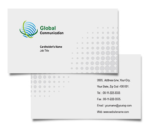 Business Card printing Global Communication Systems