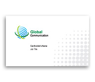 Online Business Card printing Global Communication Systems