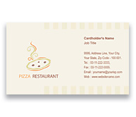 Online Business Card printing Pizza Corner