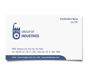 Business Card printing Industrial Units