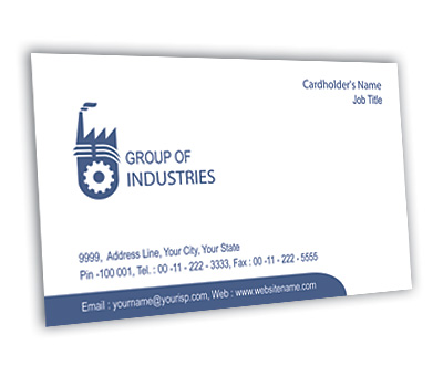 Online Business Card printing Industrial Units