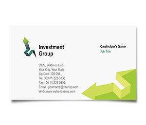 Business Card printing Finance Customer Services