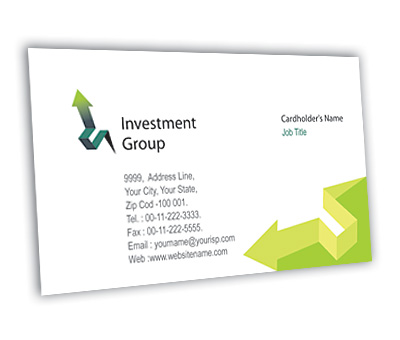 Online Business Card printing Finance Customer Services