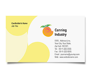 Business Card printing Canning