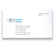 Online Business Card printing Eye Centre