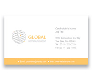Online Business Card printing Global Communication Network