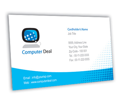 Online Business Card printing Computer Deals
