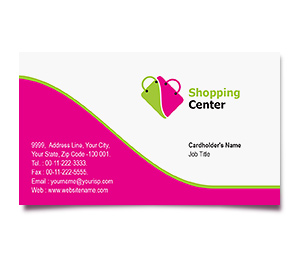 Business Card printing Shoping Centre
