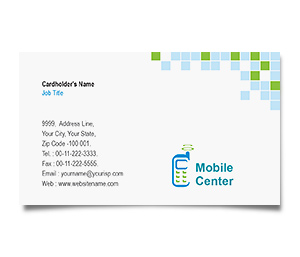 Business Card printing Mobile Handsets
