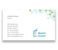 Online Business Card printing Mobile Handsets
