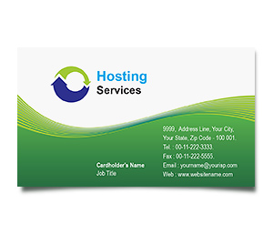 Business Card printing Domain Hosting Services