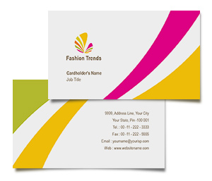 Business Card printing Fashion Wear
