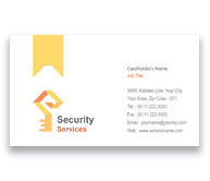 Online Business Card printing Brick House Security