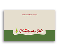 Online Business Card printing Christmas Gift Shop