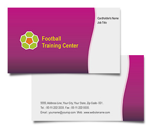 Business Card printing Football Club