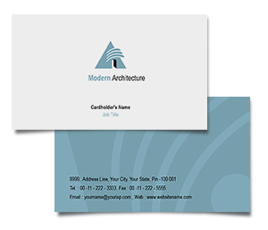 Business Card printing Modern Architectural Design