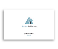 Online Business Card printing Modern Architectural Design