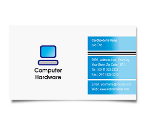 Business Card printing Computer Hardware Solution