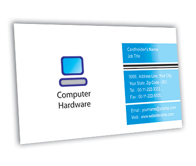 Online Business Card printing Computer Hardware Solution