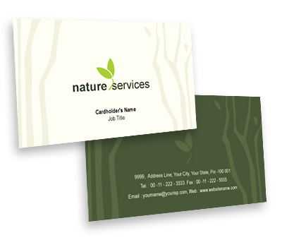 Online Business Card printing Rainforests