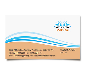 Business Card printing Book Store
