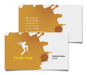 Business Card printing Music Clubs