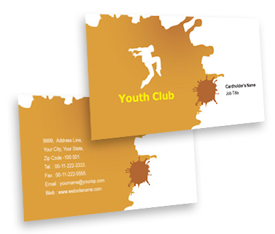 Online Business Card printing Music Clubs